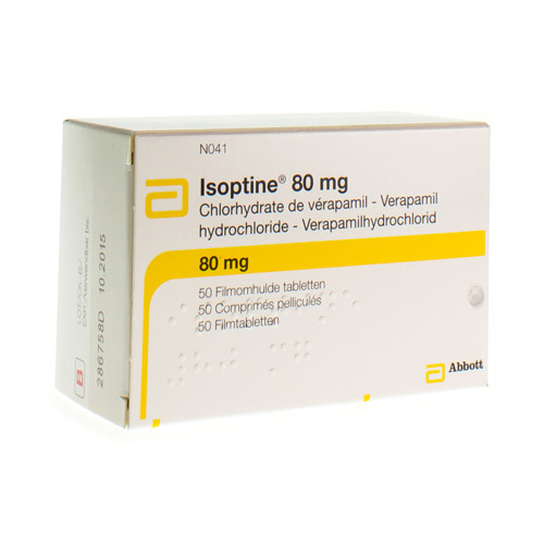 Isoptine 80 Mg (50 Comprimes)