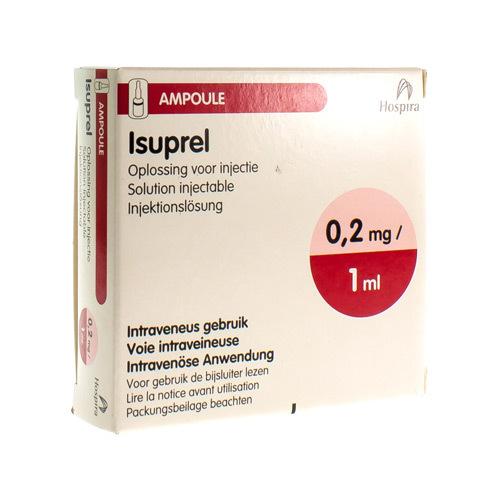 Isuprel 0,2 Mg/Ml (5 Ampullen)