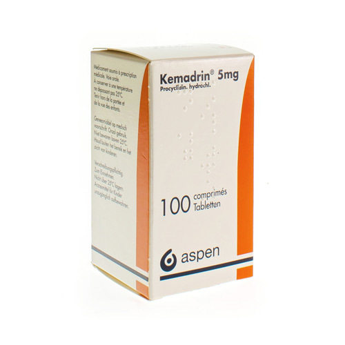 Kemadrin 5 Mg (100 Comprimes)