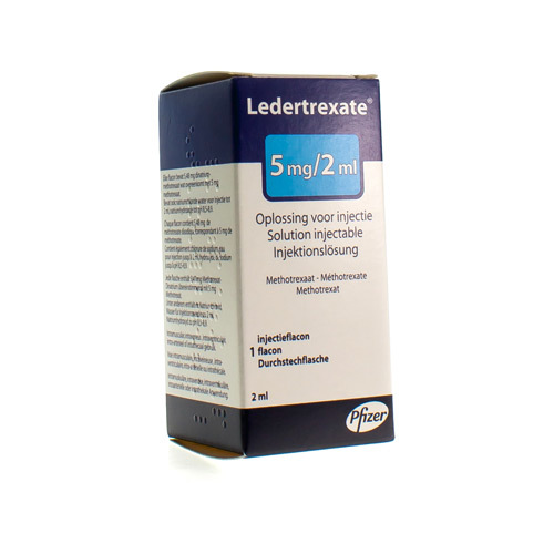 Ledertrexate 5 Mg/2 Ml (1 Flacon)