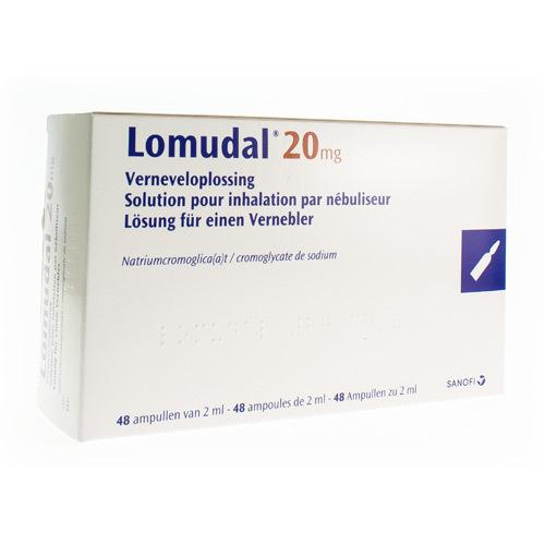 Lomudal 20 Mg (48 Ampullen)