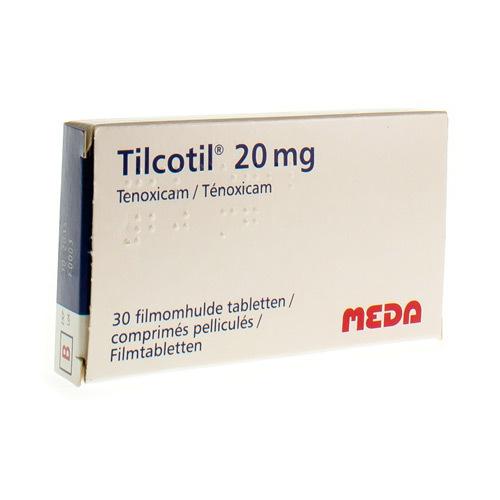 Tilcotil 20 Mg (30 Comprimes)