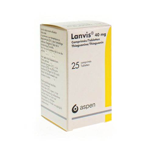 Lanvis 40 Mg (25 Comprimes)