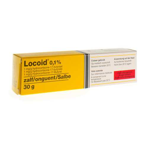 Locoid Onguent 0,1% (30 Grammes)