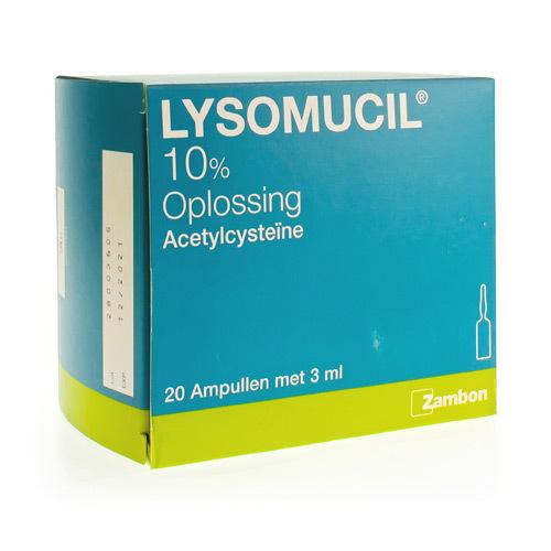 Lysomucil 10% (20 Ampullen)