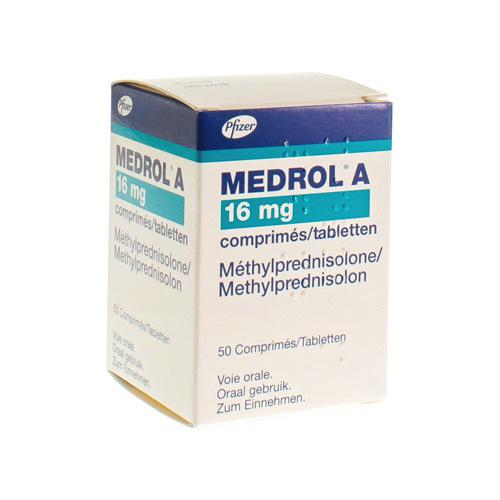 Medrol A 16 Mg (50 Tabletten)