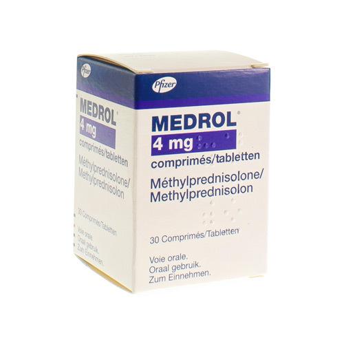 Medrol 4 mg (30 tabletten)