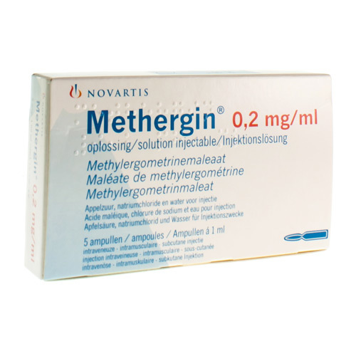 Methergin 0,2 Mg/Ml (5 Ampoules)