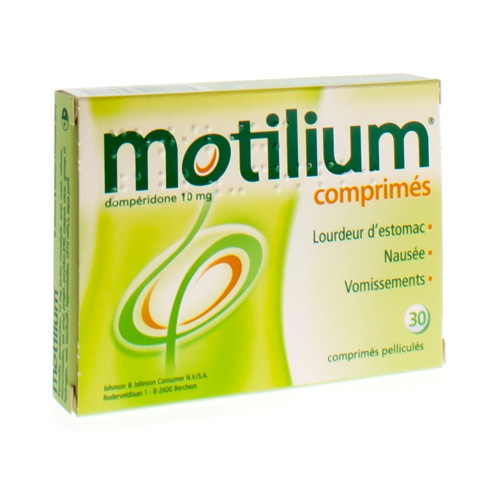 Motilium 10 Mg (30 Comprimes)