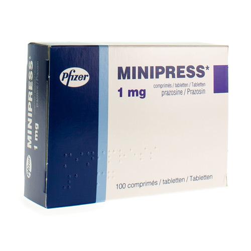 Minipress 1 Mg (100 Comprimes)