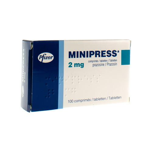 Minipress 2 Mg (100 Comprimes)