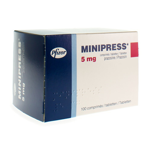 Minipress 5 Mg (100 Comprimes)
