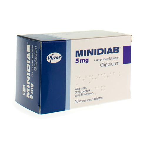 Minidiab 5 Mg (90 Comprimes)
