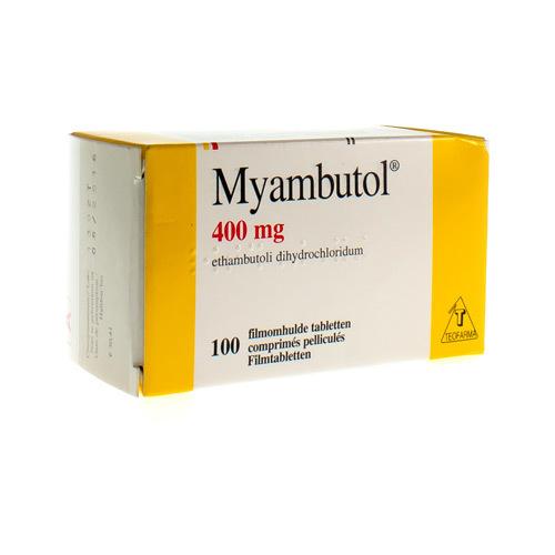Myambutol 400 Mg (100 Comprimes)