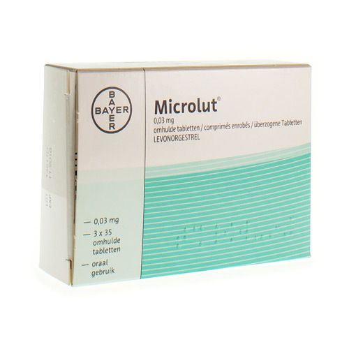Microlut 0,03 Mg (3 X 35 Tabletten)