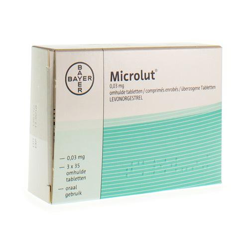 Microlut 0,03 mg (3 x 35 tabletten)