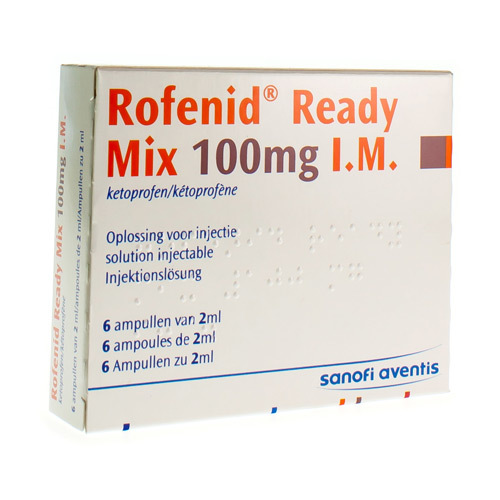 Rofenid Ready Mix I.M. 100 Mg (6 Ampullen)