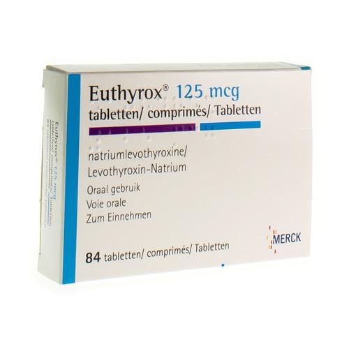 Euthyrox 100 Mcg (84 Tabletten)