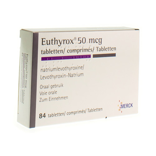 Euthyrox 50 Mcg (84 Comprimes) - Pharmacie Medibib