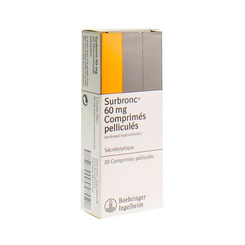 Surbronc 60 Mg (20 Comprimes)
