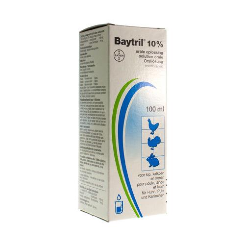 Baytril Veterinaire 10%  100 Ml