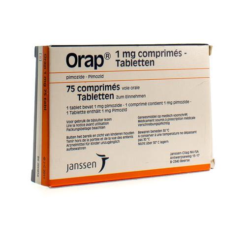 Orap 1 Mg (75 Comprimes)