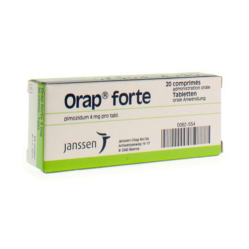 Orap Forte 4 Mg (20 Tabletten)