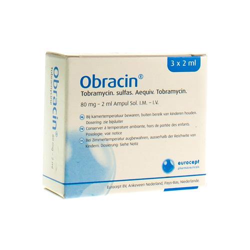 Obracin 80 Mg (3 Injectieflacons)