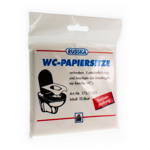 Pharmex Wc-Bril Beschermer Papier (10 Stuks)