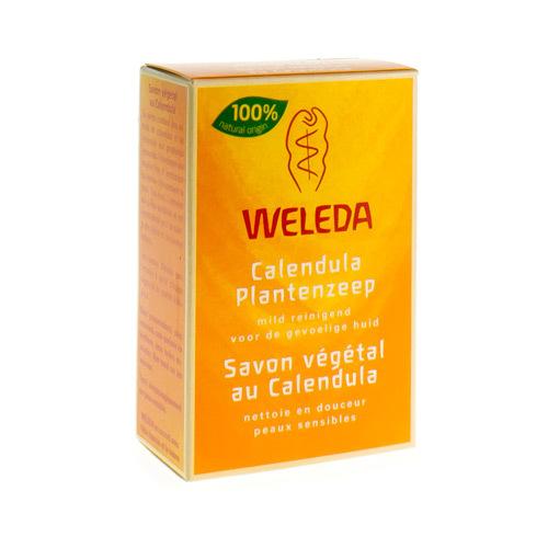 Weleda Savon Vegetal Au Calendula (100 Grammes)
