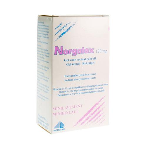Norgalax 120 Mg (6 X 10 Grammes)