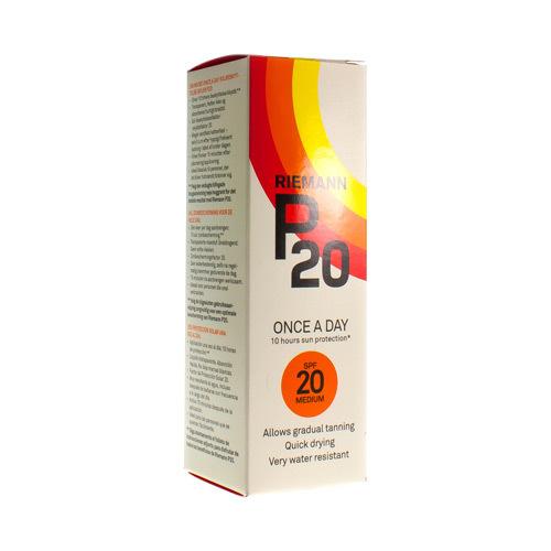 P20 Zonnegel Filter Uvb 100Ml