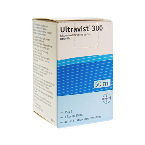 Ultravist 300 (1 X 50 Ml Injectieflacon)