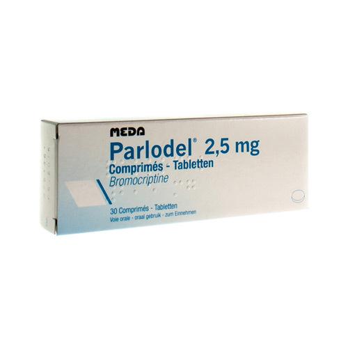 Parlodel 2,5 Mg (30 Comprimes)