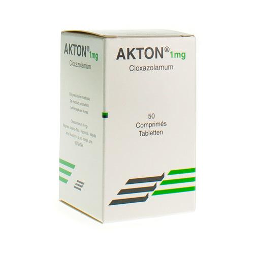 Akton 1 Mg  50 Comprimes