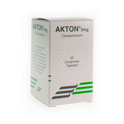 Akton 2 Mg  20 Comprimes