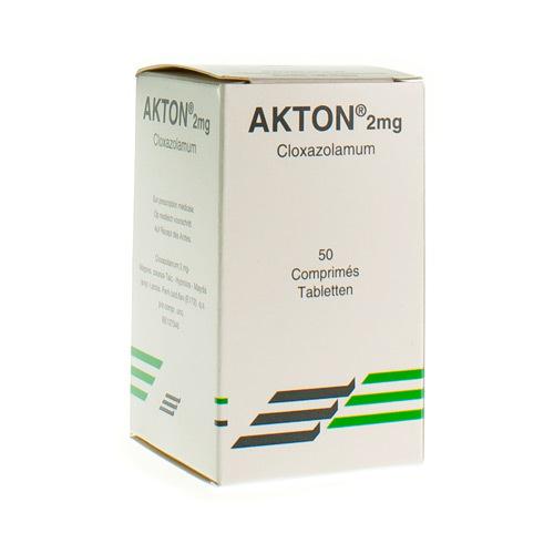 Akton 2 Mg  50 Comprimes
