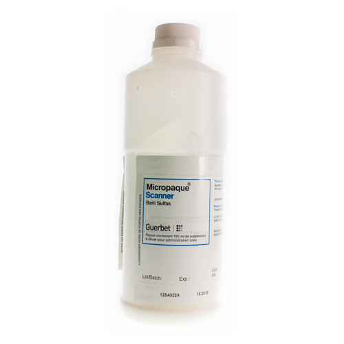 Micropaque Scanner 50 Mg/Ml (150 Ml)