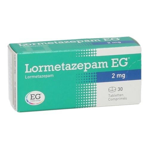 Lormetazepam EG 2 Mg (30 Comprimes)