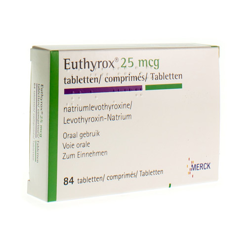 Euthyrox 25 Mcg (84 Comprimes)