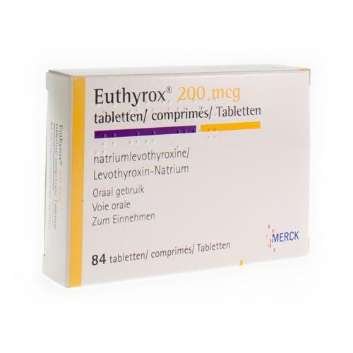 Euthyrox 200 Mcg (84 Tabletten)