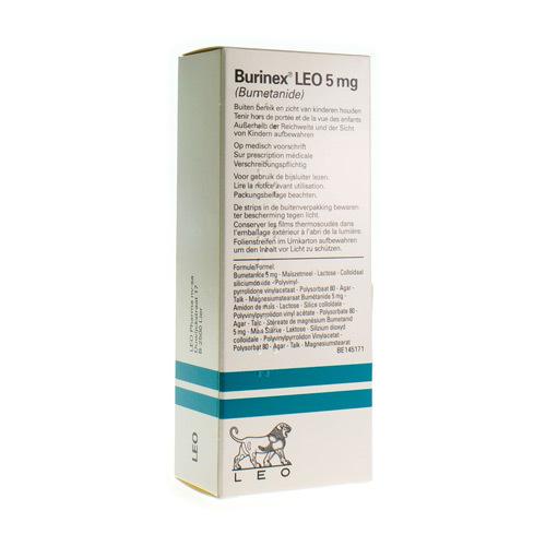 Burinex Leo 5 Mg  20 Comprimes
