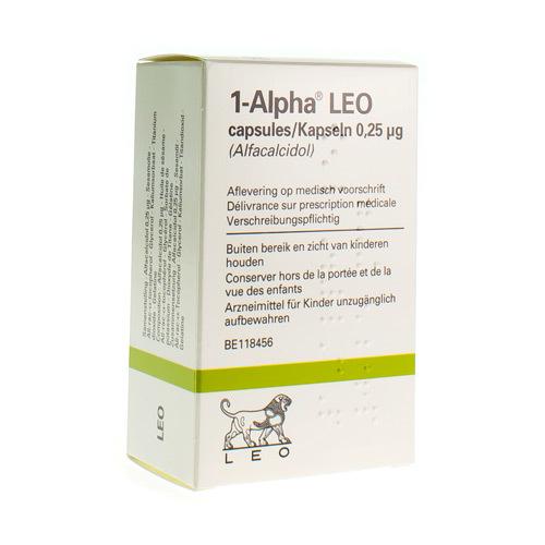 Alpha 1 Leo 0,25 Mcg  30 Capsules