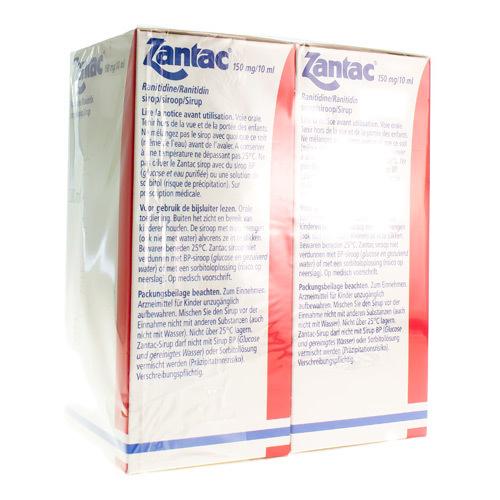 Zantac 150 Mg/10 Ml (2 X 280 Ml)