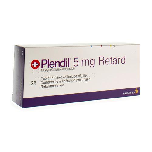 Plendil Retard 5 Mg (28 Comprimes)
