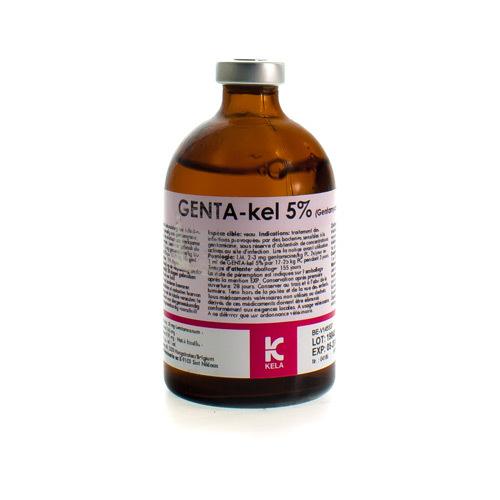 Genta-Kel Veterinair 5% (100 Ml)