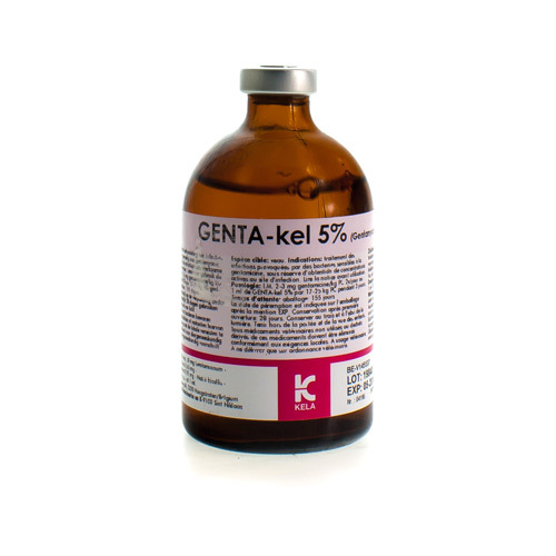 Genta-Kel Veterinaire 5% (100 Ml)