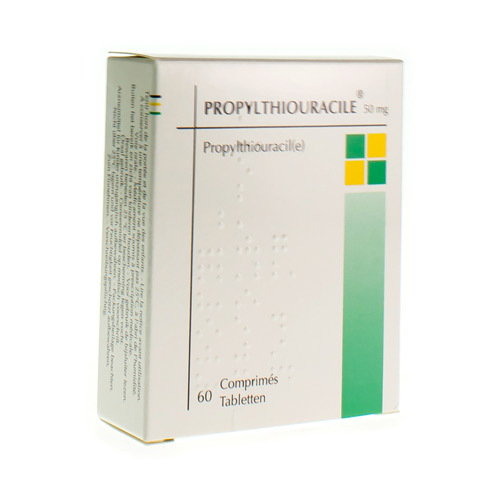 Propylthiouracile 50 mg (60 tabletten)