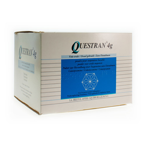 Questran 4000 Mg (50 Sachets)