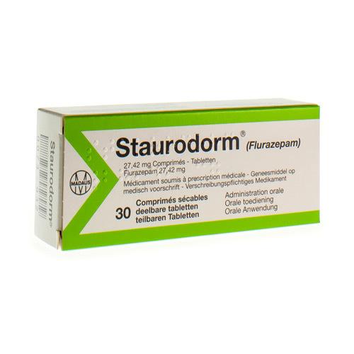 Staurodorm 27,42 Mg (30 Comprimes)